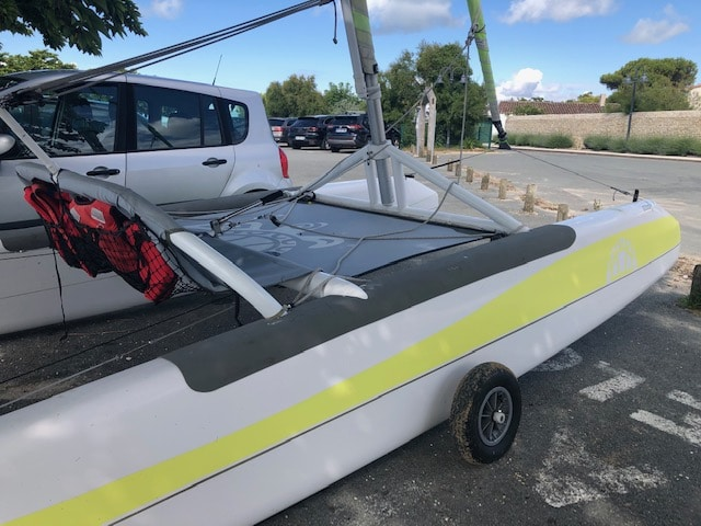 Iziboat, un catamaran plus accessible