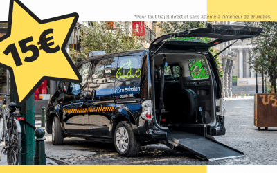 Handycab, des taxis PMR à 15€ la course en Juillet!